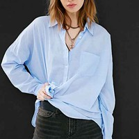 Margot Boyfriend Button-Down