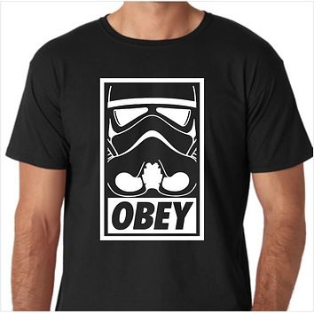 Star Wars - Stormtrooper Obey Custom Made T-Shirt