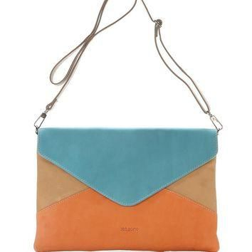 VIDA Leather Statement Clutch - Convergence by VIDA bgTG2ORoP