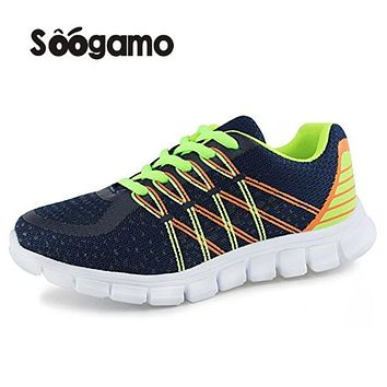 Student school shoes Kids sneakers boys and girls Mesh casual shoes breathable lace up shoes anti slippery shoes 4 colors