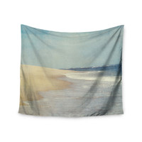 "Chelsea Victoria ""The Cape"" Nature Blue Wall Tapestry"