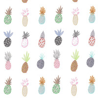Limited Edition prints.Pineapple print Wall decor. Illustration.