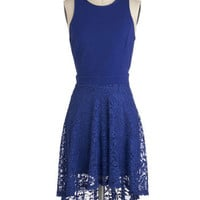 Sapphire in Your Eyes Dress | Mod Retro Vintage Dresses | ModCloth.com