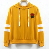 T-shirts Women's Fashion Heavy Work Embroidery Hoodies Hats [11949868431]