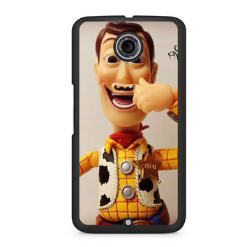Toy Story Woody Mustache Nexus 6 case