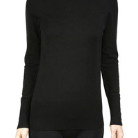 Women Long Sleeve Turtle Neck Light Thin Sweater Top