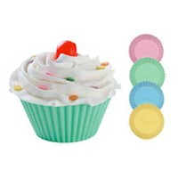 Silicone Soap Mold- Round Cupcakes