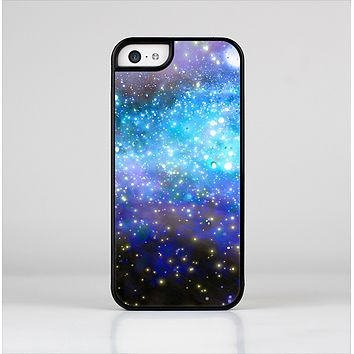 The Glowing Space Texture Skin-Sert Case for the Apple iPhone 5c