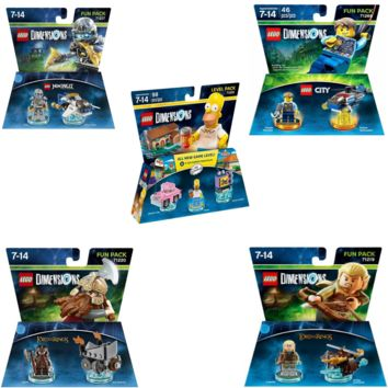 Lego City Lego Ninjago Lego City Sets Ninjago Zane LEGO City Chase McCain Simpsons Homer Lord Of The Rings Legolas Gimli Team Pack | A Lego Dimensions Team Pack Lego Dimensions Ninjago
