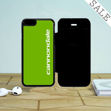 Cannondale Bike Team Bicycle Cycling Logo iPhone 5 Flip Case