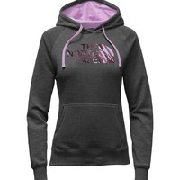 The North Face Sundry Half Dome Pullover Hoodie in TNF Dark Grey Heather for Women NF0A2T8L-JBU