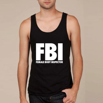 FBI Female Body Inspector Tank Top
