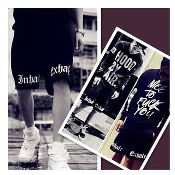 Hip hop shorts pants