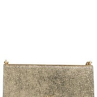 Women's Lanvin Metallic Wallet on a Chain - Metallic