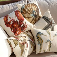 SEA LIFE INDOOR/OUTDOOR PILLOWS