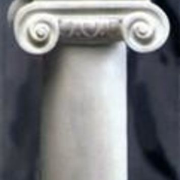 Neoclassic Ionic Display Pedestal Column 41.5H - 8480
