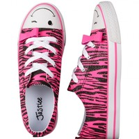 Tiger Low Top Canvas Sneakers