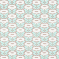Lazy Daisy Turquoise - Organic Cotton - Morning Song Collection (5208.52.00.90)