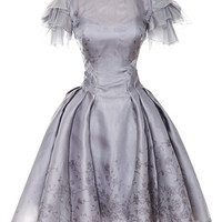 Painted Organza Dress by Zac Posen - Moda Operandi