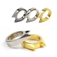 Mini Alloy Self Defense Ring