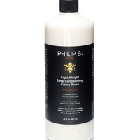 Light-Weight Deep Conditioning Creme Rinse Classic Formula, 32 oz. - Philip B