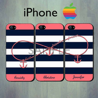 Nautical Infinity Best Friends Forever Blue by thecasefactory