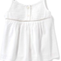 Pintuck Henley Tank for Baby | Old Navy