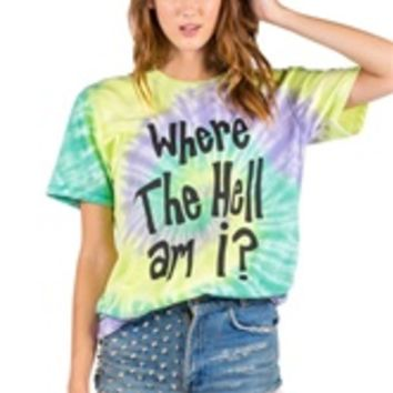 WHERE THE HELL AM I? Unisex Perfect Tee