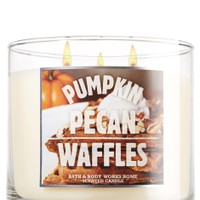 Pumpkin Pecan Waffles 6 oz. Mason Jar Candle   - Slatkin & Co. - Bath & Body Works