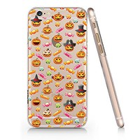 Funny Halloween Pumpkin And Candy Slim Transparent Plastic Phone Case for iphone 6 _ SUPERTRAMPshop (iphone 6 slim)