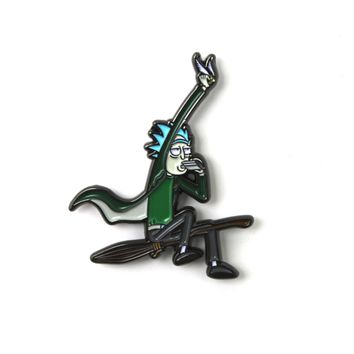 The 'Quidditch Rick' Pin