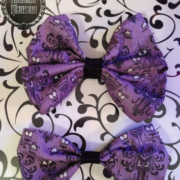 Disney's Haunted Mansion inspired Bows
