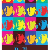 The Beatles Andy Warhol Poster