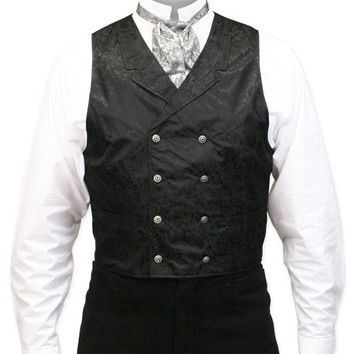 Baker City Silk Vest - Black