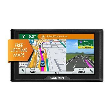 "Garmin Drive 60LM Auto GPS with Lifetime Continental US Maps & 6"" Screen"