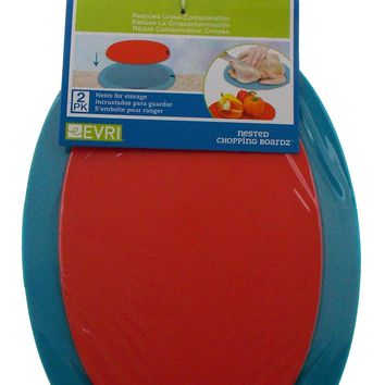 Evriholder Products Nested Chopping Boardz Boards Nest For Storage BPA
