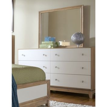 Hashtag Fun White Six Drawer Dresser | Overstock.com Shopping - The Best Deals on Dressers