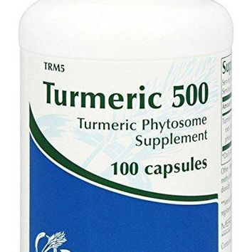 Prothera Turmeric 500 Herbal Supplements, 100 Count
