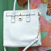 All Just The Same Purse: White | Hope's
