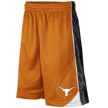 Texas Longhorns Youth Burnt Orange Vector Shorts-