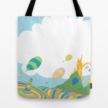 oh the places you'll go .. dr seuss Tote Bag by Studiomarshallarts