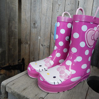 Hello Kitty Cutie Dot by Western Chief {Pink} | 640022