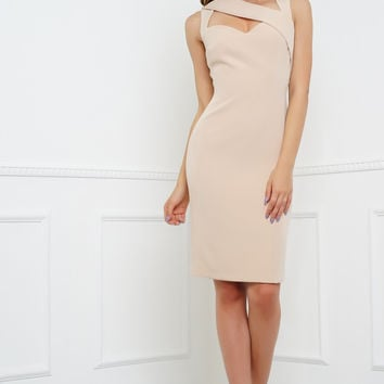 Shari Dress - Nude