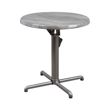 Atlantic Veendam Round Gray Bistro Table