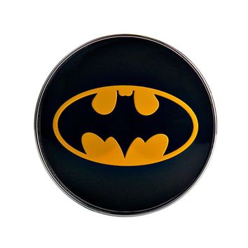 Batman Dark Knight gift Christmas 4pcs/lot Black Car Emblem Badge Wheel Center Cap 60mm Batman Tyre Steering Wheel Center Hub Cap car styling accessories AT_71_6