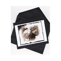 Greeting Card Darkness Becomes You handmade by twistedpixelstudio