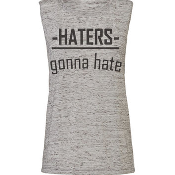 haters gonna hate workout tank workout top workout womens workout shirts workout clothes gym tank gym shirts fitness tank