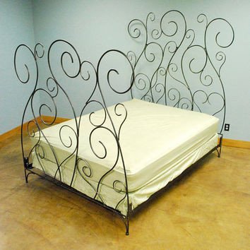 Ivy Bed by deliafurniture on Etsy