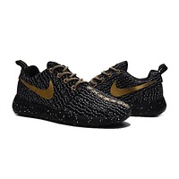 Custom Roshe One x Yeezy Boost 350 Black Golden