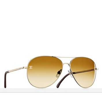 CHANEL Fashion - Aviator sunglasses